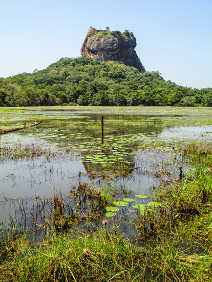 Sigiriya, Lion Rock