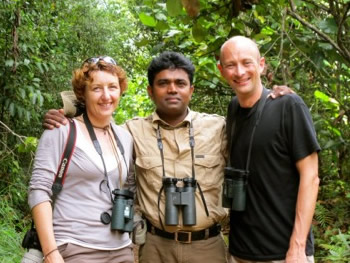 Jane, Nandana and Adam